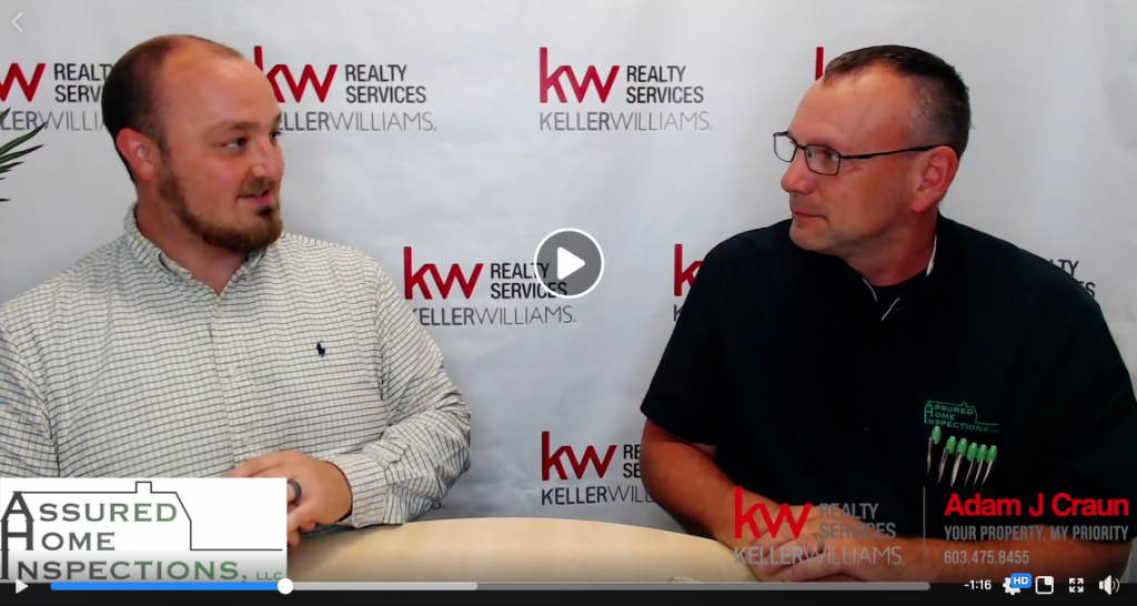 John Lawson of Assured Home Inspections talks to Adams Answers & Keller Williams Realty Services about home inspection